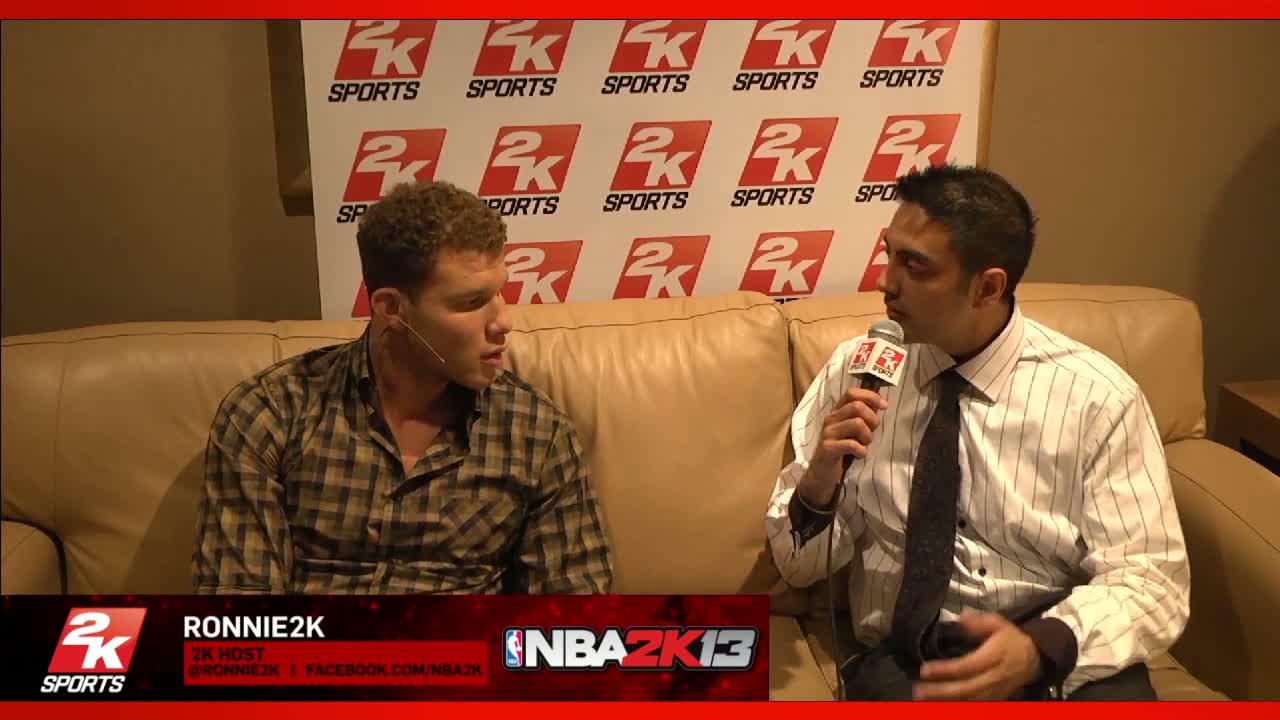 Blake Griffin Interview | NBA 2K13