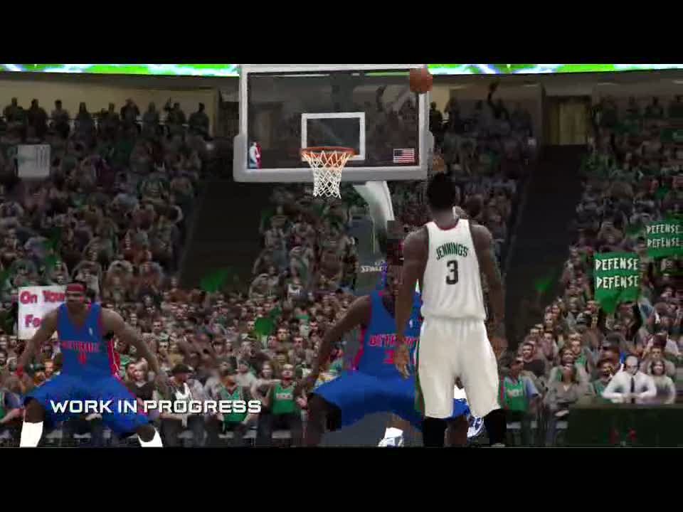 Game Physics Video | NBA Elite 11
