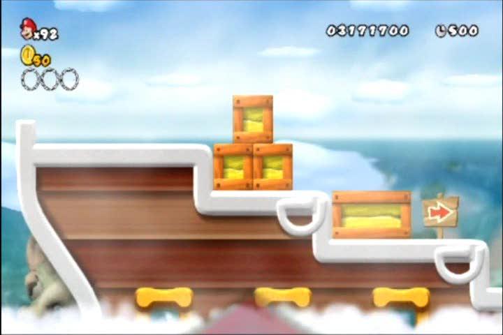 World 4-Airship Star Coin Guide   New Super Mario Bros