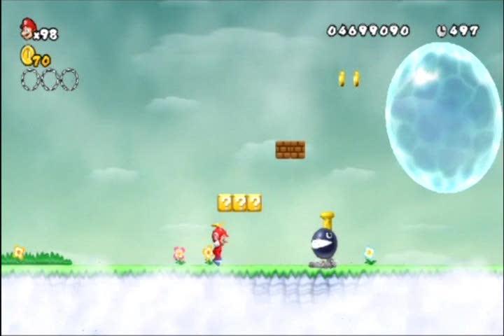 World 7-2 Star Coin Guide | New Super Mario Bros