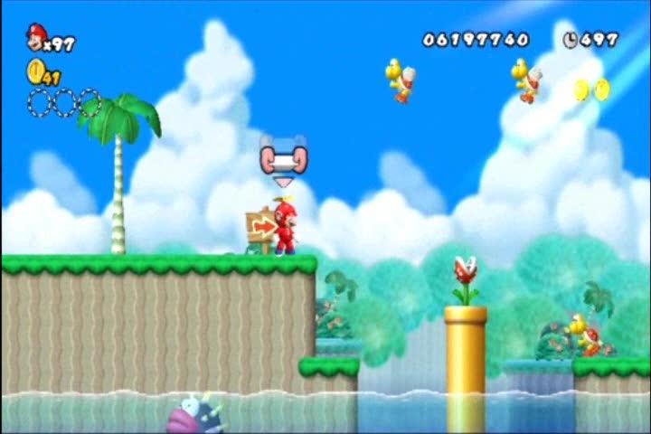 World 9-2 Star Coin Guide | New Super Mario Bros