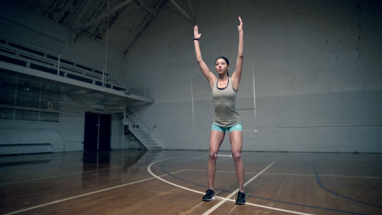 Extended E3 Sizzle Reel | Nike+ Kinect Training