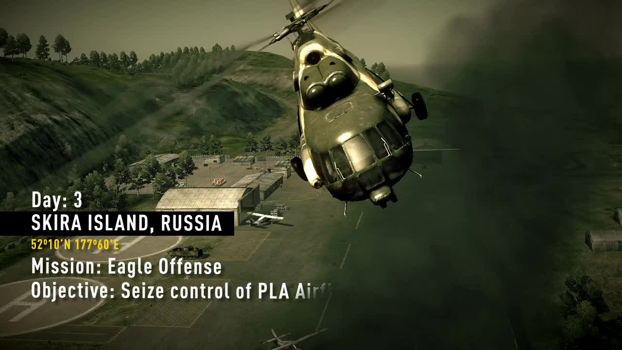 Eagle Offense mission video | Operation Flashpoint: Dragon Rising