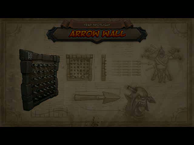 Arrow Wall Defence Video | Orcs Must Die