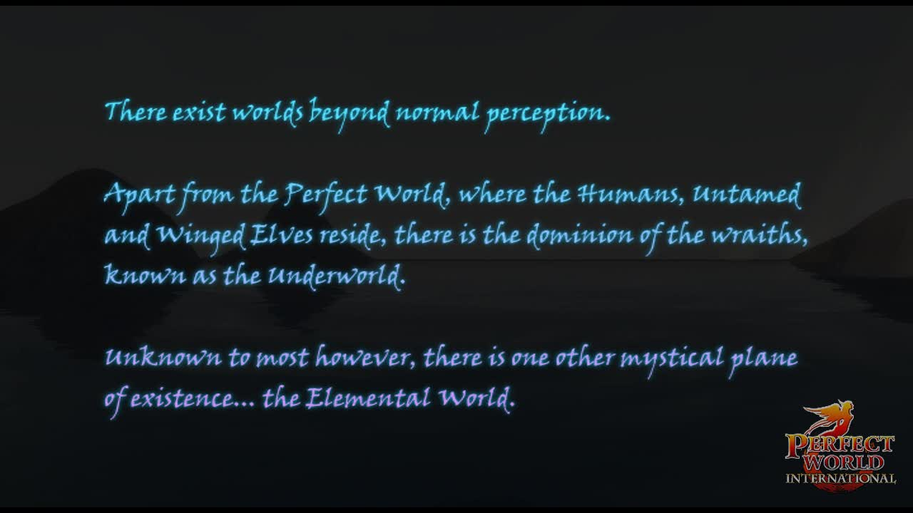Perfect World: The Age of Spirits  Videos and Trailers
