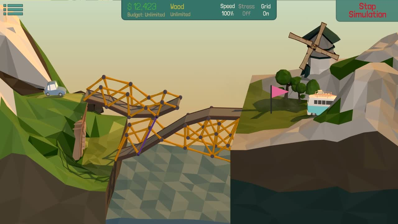 Poly Bridge  Videos and Trailers
