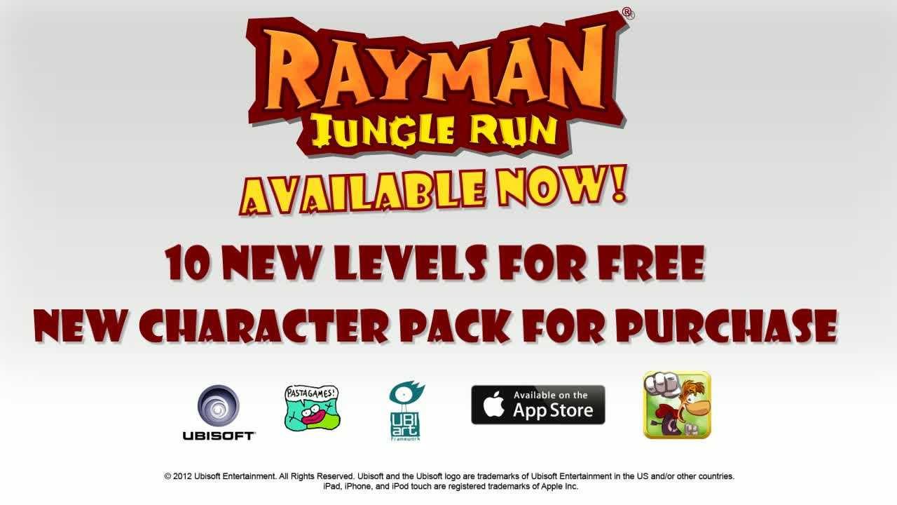 Rayman Jungle Run  Videos and Trailers