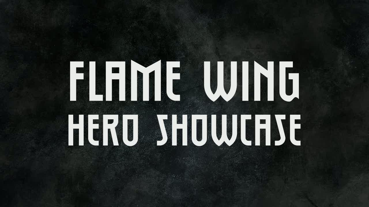Flame Wing Hero Showcase | Realm of the Titans
