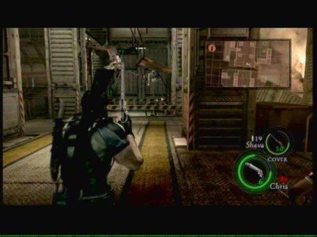 6-3: Bridge Deck - Getting past the Walkers and Reapers | Resident Evil 5
