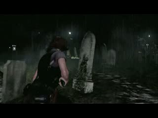Leon and Helena: Chapter 2 - Cemetery surprise | Resident Evil 6