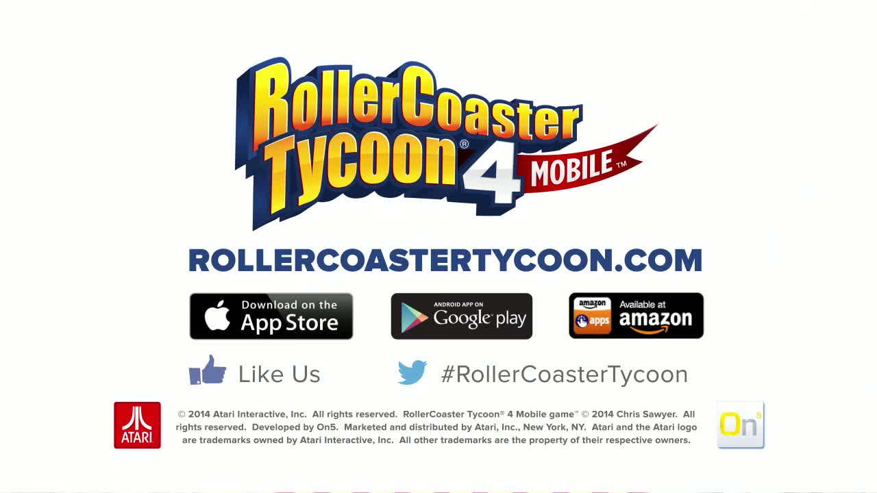RollerCoaster Tycoon 4 Mobile  Videos and Trailers