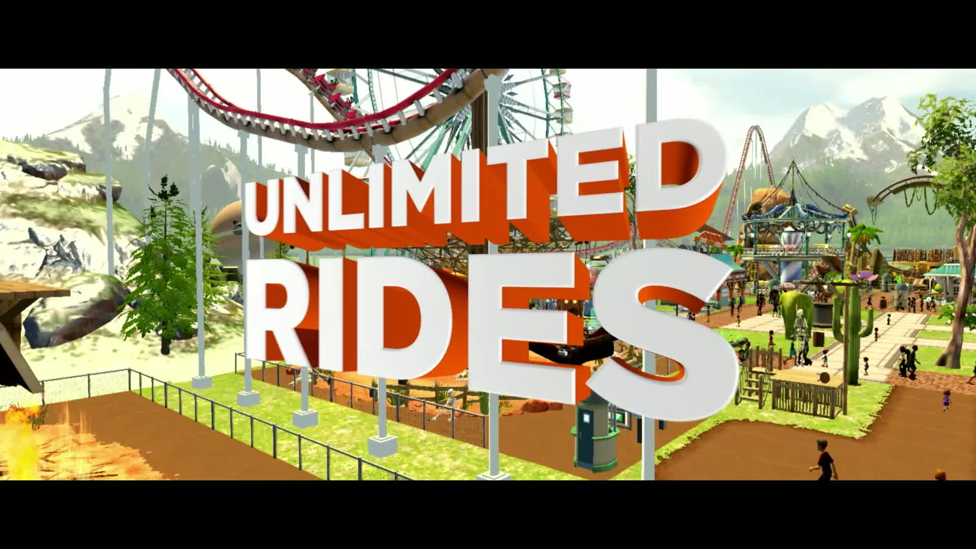 RollerCoaster Tycoon World  Videos and Trailers