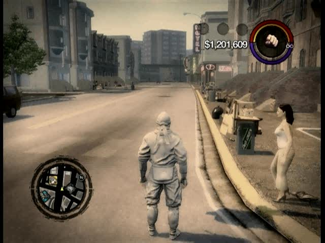 Raining Pedestrians cheat | Saints Row 2