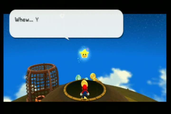 test clip   Super Mario Galaxy 2