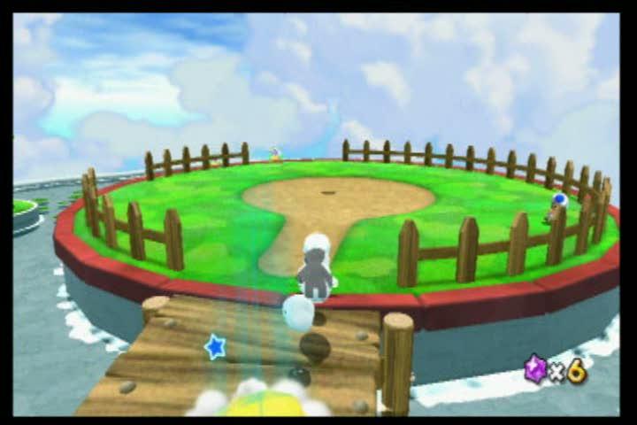 Fluffy Bluff Green Stars | Super Mario Galaxy 2