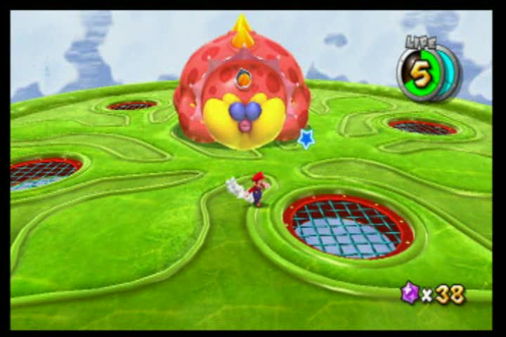 BOSS: GLAMDOZER | Super Mario Galaxy 2