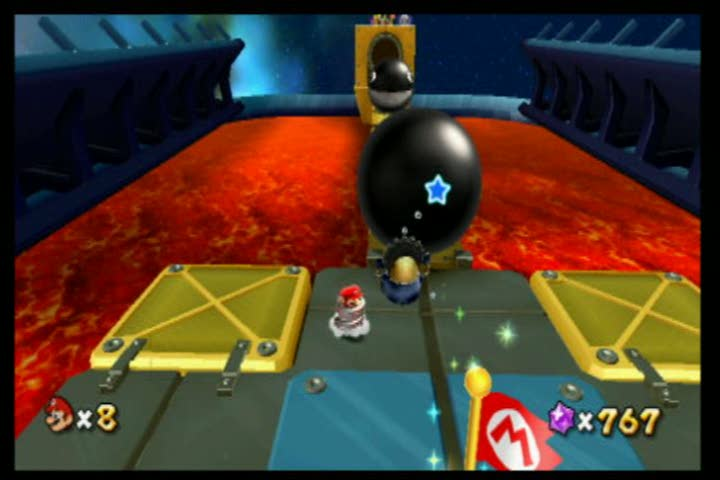 Cosmic Clones in the Chompworks | Super Mario Galaxy 2