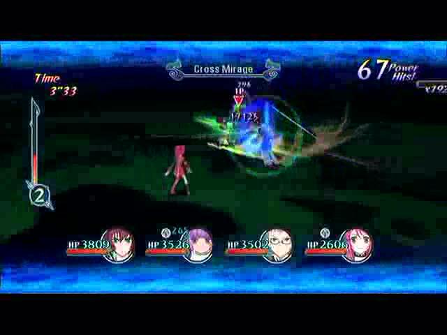 Boss Battle: Emeraude   Tales of Graces F