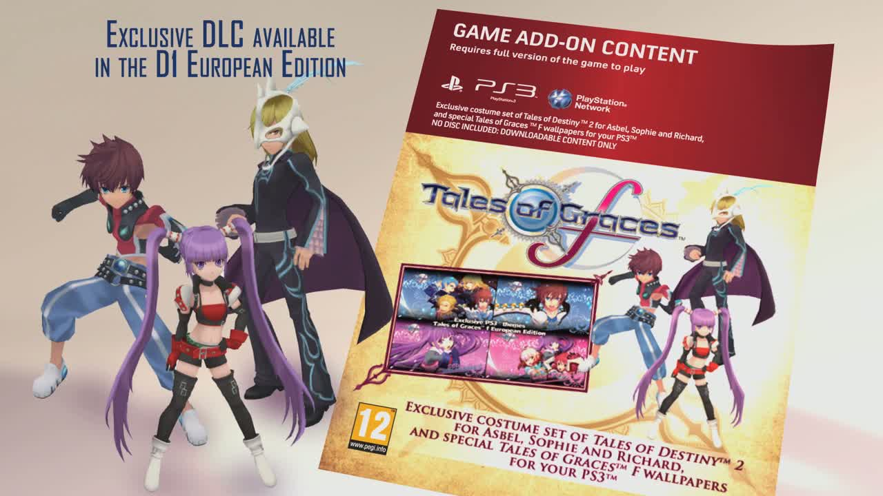 Tales of Graces F  Videos and Trailers