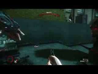 Crane bossfight | The Darkness 2