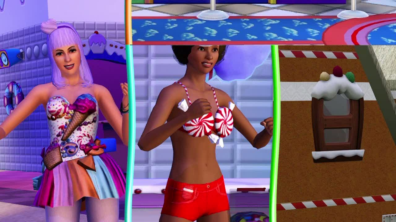 The Sims 3 Katy Perry's Sweet Treats  Videos and Trailers