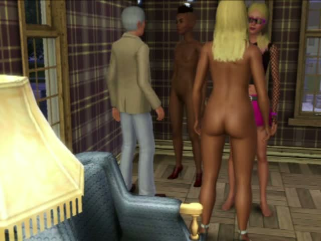 Inappropriately Nude Conduct at a formal party from some Sims! | The Sims 3: Late Night