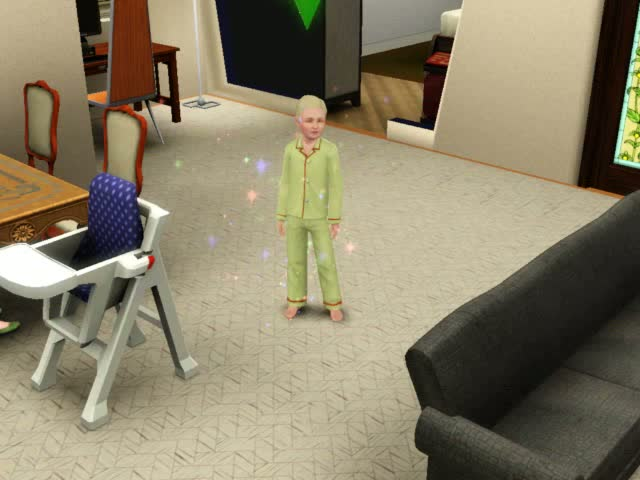 The happier your toddler the better the results when they age up | The Sims 3: Late Night
