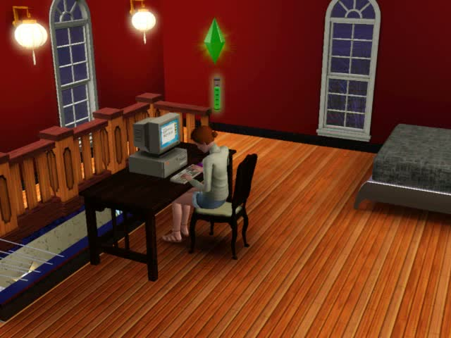 Writing Books pays off over the long-term in Royalties... | The Sims 3: Late Night