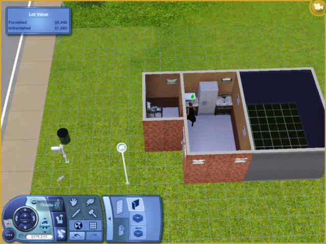 Build Mode - Building a Balcony | The Sims 3