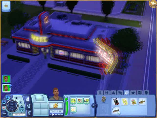 Buying out the Diner - Sunset Vally | The Sims 3