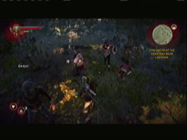 A Battle with Dmitri and the Focus Achievement | The Witcher 2: Assassins of Kings