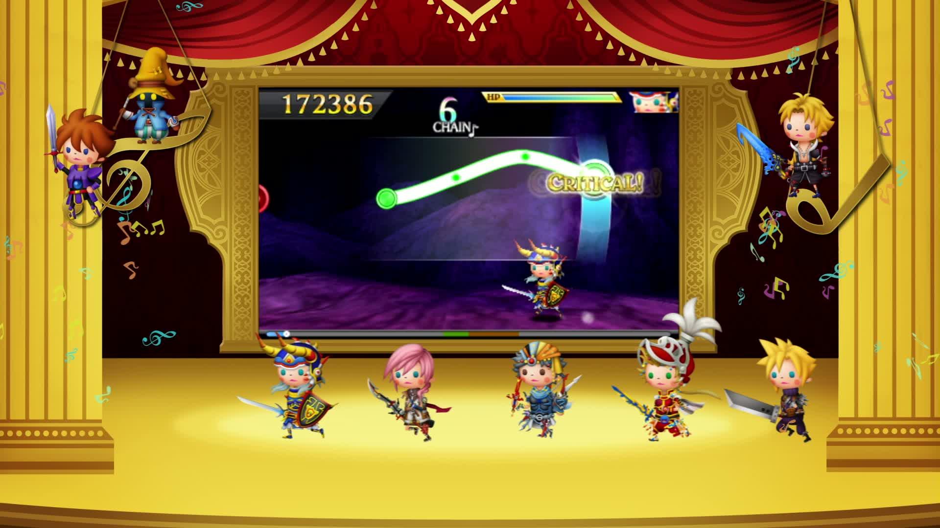 Theatrhythm Final Fantasy: Curtain Call  Videos and Trailers