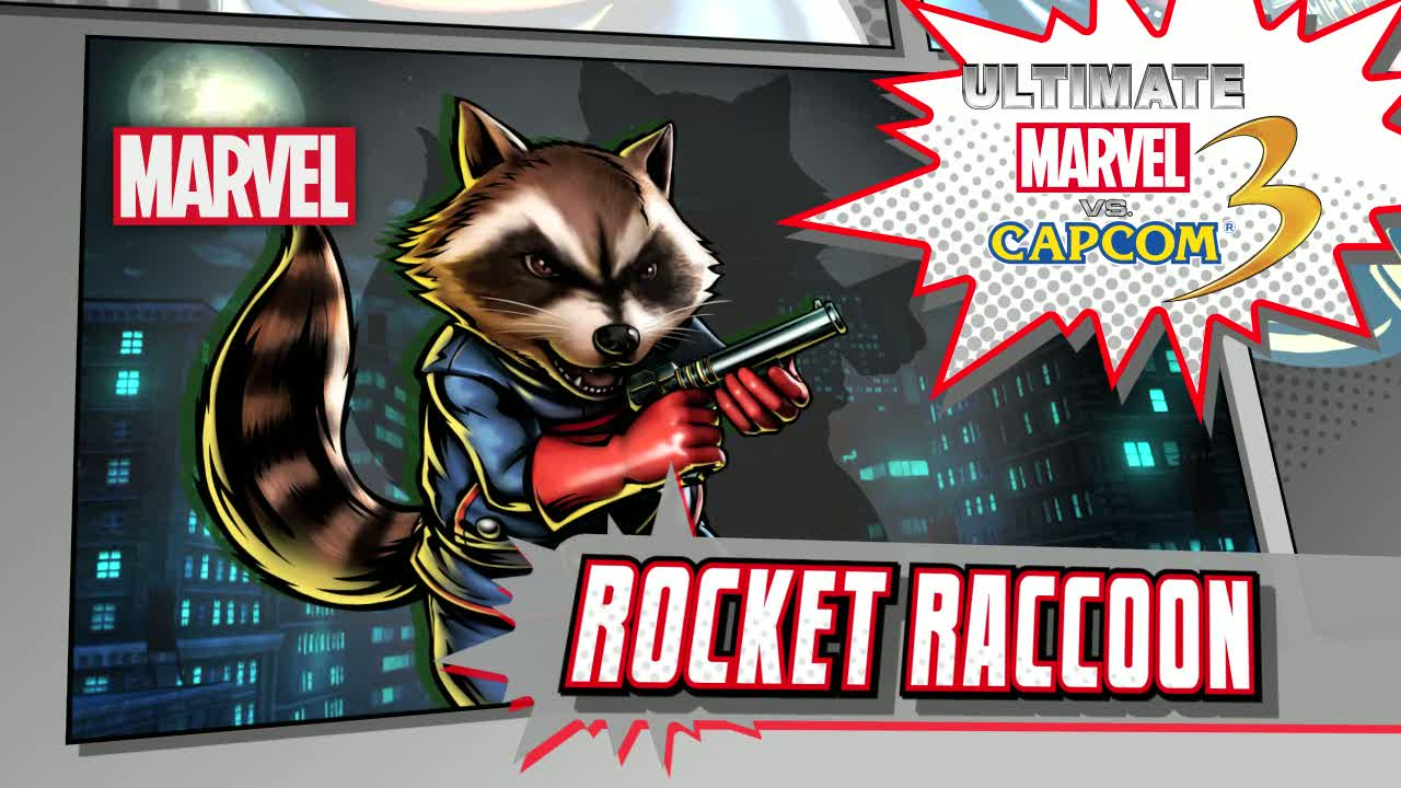 Rocket Racoon Vignette | Ultimate Marvel vs Capcom 3