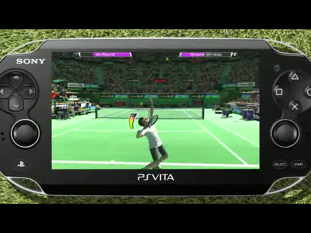 PS Vita Trailer | Virtua Tennis 4