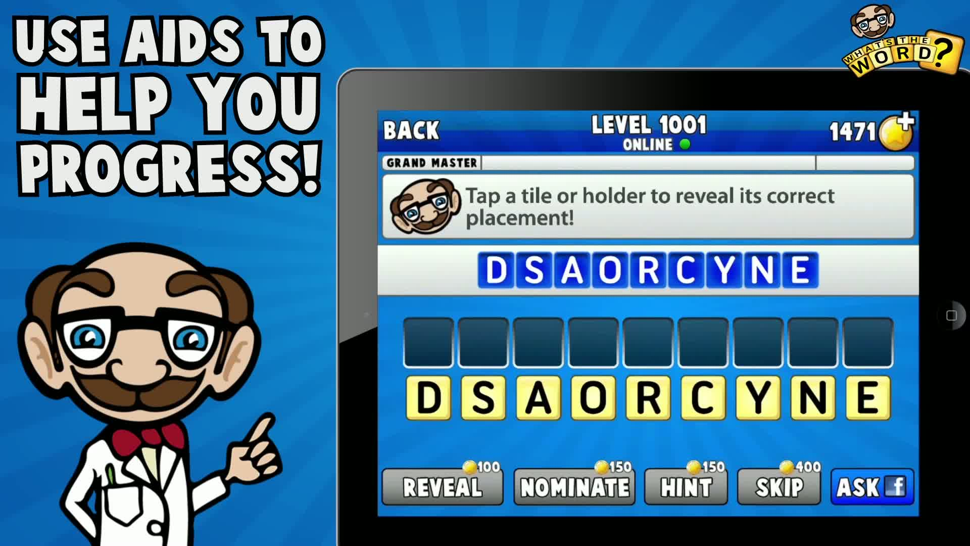 What's The Word: Word Puzzle Quiz  Videos and Trailers