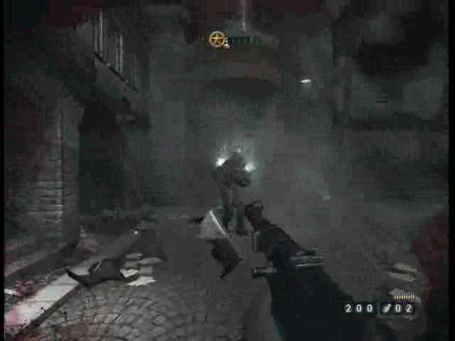 Church - Defeat the Heavy Trooper and retrieve the Particle Cann   Wolfenstein