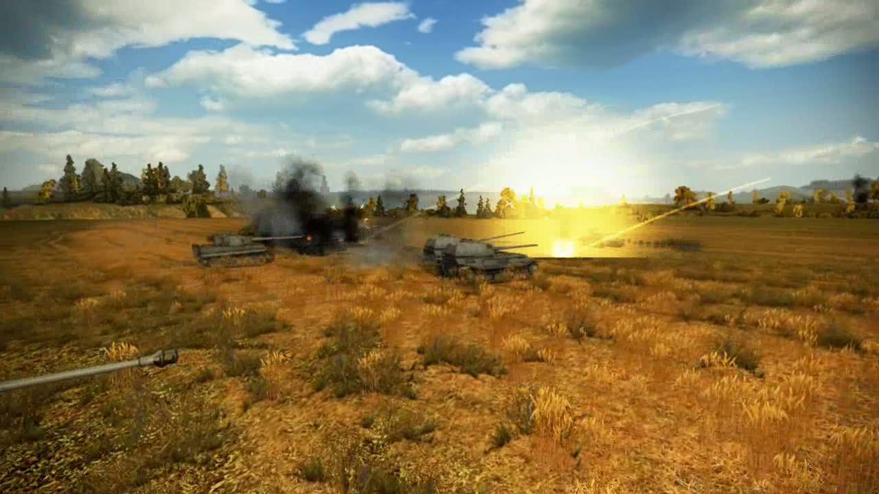Self-propelled guns trailer | World of Tanks