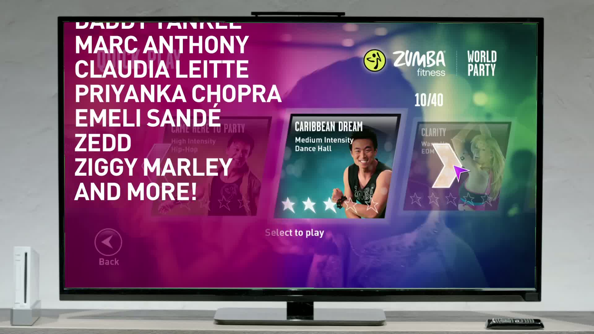 Zumba World Party  Videos and Trailers